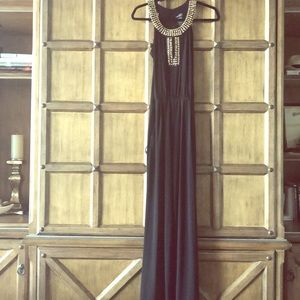 Long Black Bisou Bisou Jumpsuit